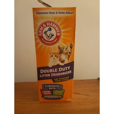 Arm and hammer double duty litter deodorizer
