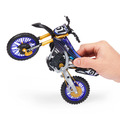 Supercross 1:10 Scale Collector Die-Cast Motorcycle Replica with Display Stand