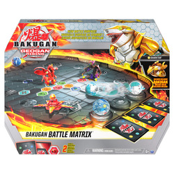 Bakugan Battle Matrix Deluxe Game Board with Exclusive Gold Sharktar Bakugan