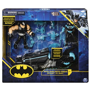 Batman Moto-Tank Vehicle with 4-inch Bane Exclusive Batman Action Figure and 12 Exclusive Accessories