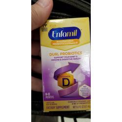 Enfamil Dual Probiotic Infant Daily Drops