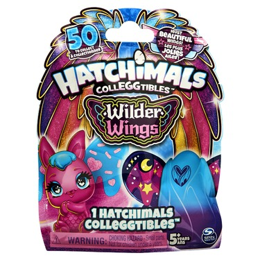 Hatchimals CollEGGtibles Wilder Wings 1-Pack with Mix and Match Wings