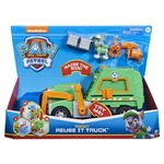 PAW Patrol Rocky's Reuse It Deluxe Truck with Collectible Figure