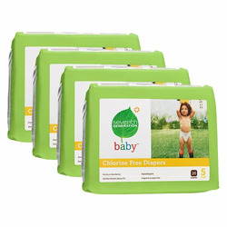 Seventh Generation Baby Diapers - Size 5