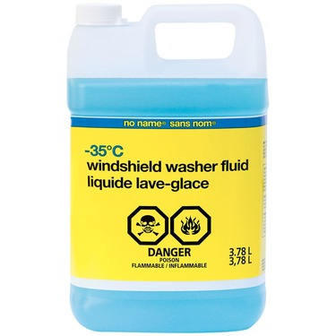 No Name Brand Windshield Washer Fluid
