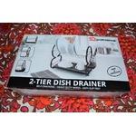 SQ professional 2 Tier Dish Drainer