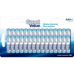 Great Value AAA Alkaline Battery 30 Pack