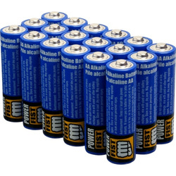 Power Fist Princess Auto AA batteries
