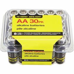 NO NAME Alkaline Batteries AA-30
