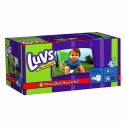 Luvs Diapers Big Pack Size 4