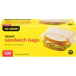 NO NAME Resealable Sandwich Bags