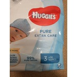 Huggies pure exra care wipes