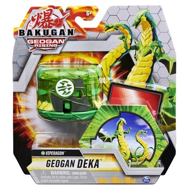 Bakugan Geogan Rising Geogan Deka Jumbo Collectible Transforming Figure