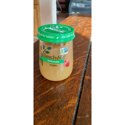 Beech Nut Naturals apple baby food