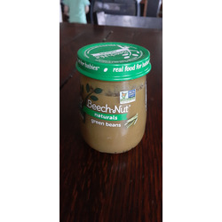 Beech Nut Naturals green beans baby food