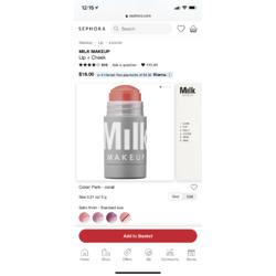Milk makeup Lip and Cheek Perk