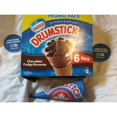 Drumstick Brownies au fondant au chocolat/ Chocolate Fudge Brownie