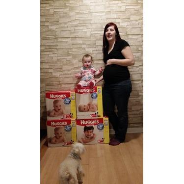 Huggies Baby Diapers, Snug & Dry, Size 6 (Over 35 lbs), Super Mega, Bag of 52