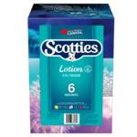 Scotties Lotion Facial Tissue