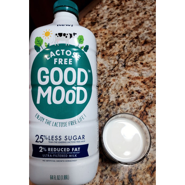 Good Mood 2% Reduced Fat Lactose Free Ultra-Filtered Milk