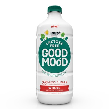 Good Mood Whole Lactose Free Ultra-Filtered Milk