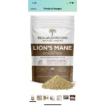 Real mushrooms lions mane.