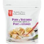 President's Choice Pork & Vegetable Potstickers Dumplings