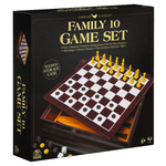 Family 10 Classic Games Set