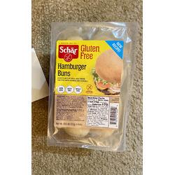 Schär gluten free Hamburger buns