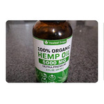 Hemp oil extract for pain, anxiety and stress relief