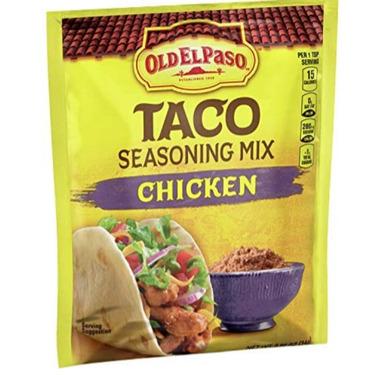Old El Paso chicken seasoning
