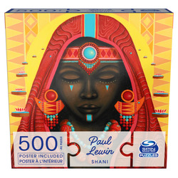 Spin Master 500-Piece Jigsaw Puzzle, Paul Lewin Shani