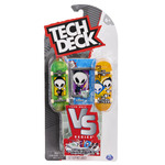 Tech Deck Toy Skateboards Versus Series, Collectible Fingerboard 2-Pack and Obstacle Set
