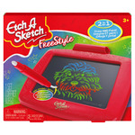 Etch A Sketch Freestyle Drawing Tablet with 2-in-1 Stylus Pen and Paintbrush