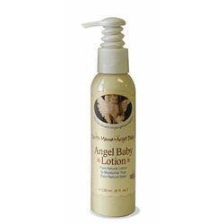 Earth Mama Angel Baby Angel Baby Lotion, 4-Ounce Bottles (Pack of 3)
