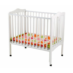 Delta Portable Mini Crib, White