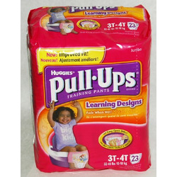 Huggies Pull-Ups Learning Designs, Girls 3T-4T