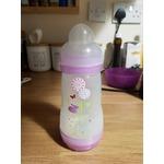 MAM BPA Free 8 oz Bottle for Girl, 3-Pack