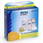 Born Free 3 Pack BPA Free 9 oz Plastic Bottles BornFree