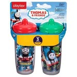 Playtex Baby Sipster Spill-Proof 9 OZ Cup 2 PK: Boy Colors