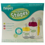 Pampers Natural Stages All In One Bottle Set