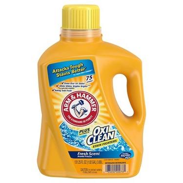 Arm & Hammer Plus OxiClean Liquid Detergent