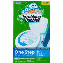 Scrubbing Bubbles One Step Toilet Bowl Cleaner