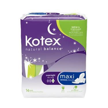 Kotex Natural Balance Feminine Napkins