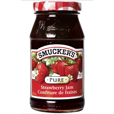Smuckers Pure Strawberry Jam
