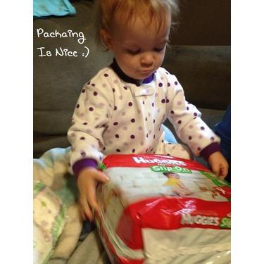 Huggies Little Movers Slip-On Diaper Pants