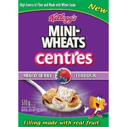 Frosted Mini Wheats Mixed Berry Centres