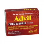 Advil Cold and Sinus Caplets