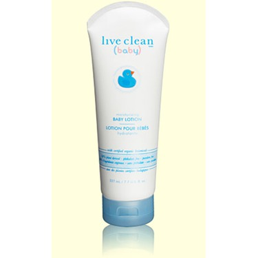 Live Clean (baby) Moisturizing Lotion