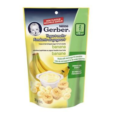Nestlé Gerber® Yogurt Banana Melts